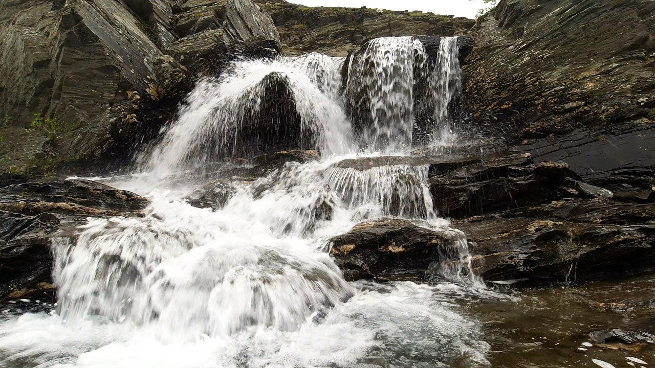 Free stock footage pack: Rivers flowing in the mountain